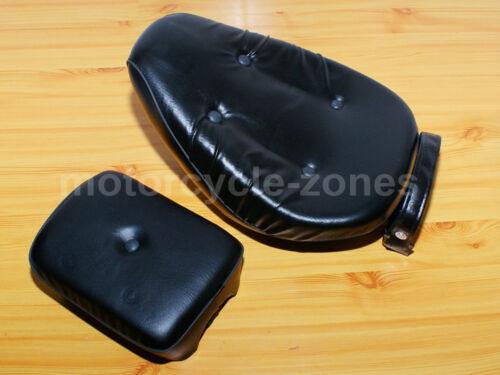 Leather Front /& Rear Seat Set For Honda Rebel CA250 CMX250 86-12 CMX250C 03-12