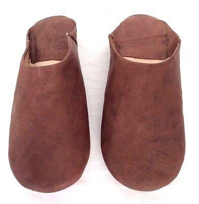 BABOUCHE Marocaine Frau Leder Schuh flexibel Slipper bestickt Pantoffel Mar. 3