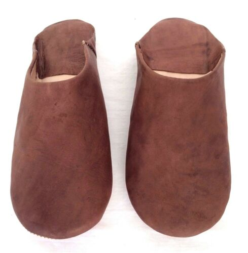 Babouche Marocaine donna pelle scarpe flessibile pantofola ricamato mar 3