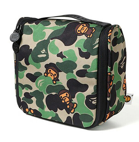 2019 A Bathing Ape BAPE Baby Milo Camo Portable Hanging Pouch Storage Bag Case