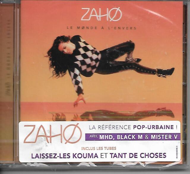CD 15 TITRES ZAHO LE MONDE A L'ENVERS   DE 2017 NEUF SCELLE