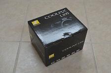 Brand New Nikon COOLPIX L105 12.1MP 15X Zoom Digital Camera Black $299 Same L110