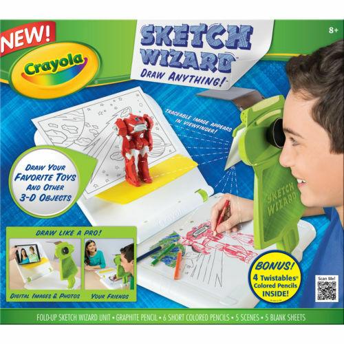 Crayola Sketch Wizard Draw Drawing Set Kids Sketching 2d 3d | eBay