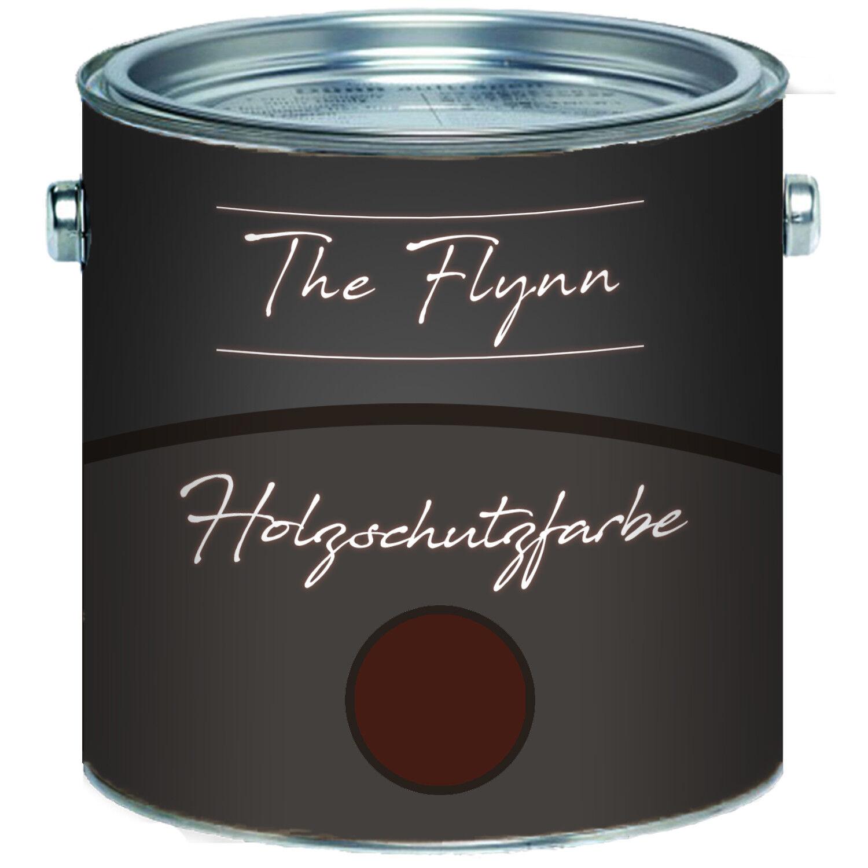 The Flynn Holzschutzfarbe Rotbraun Wetterschutzfarbe Außen Innen
