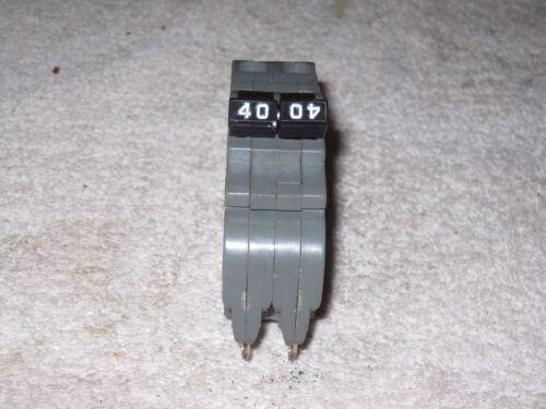 U B INC BRAND 40 AMP 2 POLE UBIF-240N FPE NC240