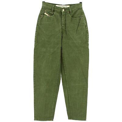 Modesto #4316 Diesel Jeans Donna Pantaloni Patrol Denim Verde Scuro Used Verde 30/28-mostra Il Titolo Originale Bianco Puro E Traslucido