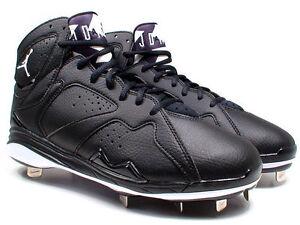Nike-Air-Jordan-Retro-7-Metal-Men-039-s-Baseball-Cleats-Style-684943-010-MSRP-135