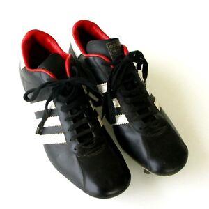 Détails sur Ancienne Paire de chaussures de foot ADIDAS VALENCIA Made in France T43