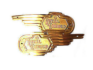 Brand-New-Royal-Enfield-Brass-Petrol-Tank-Decal-Badge