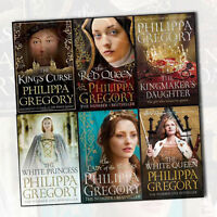 Philippa Gregory's Cousins War Series 6 Books Collection Set (The White Queen,