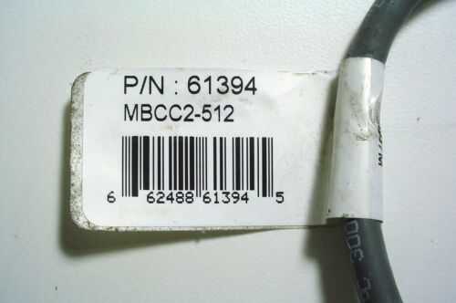 BANNER ENGINEERING 61394 MINI-STYLE QUICK DISC CABLE WITH SHIELD NEW 12 FT LONG