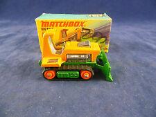 Matchbox Superfast MB - 12 C Big Bull Bulldozer in Orange & Green