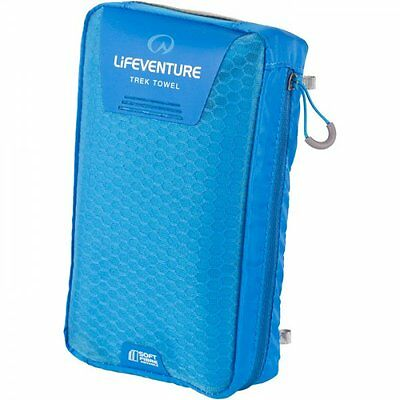 Lifeventure Softfibre Trek Asciugamano-giant-blu- Alta Resilienza