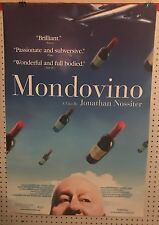 Original Movie Poster For Mondovino Single Sided 27x40