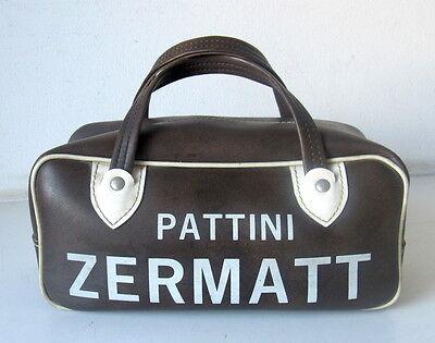 Vecchia Borsa Sportiva Pattini Zermatt - Anni 70 - Vintage