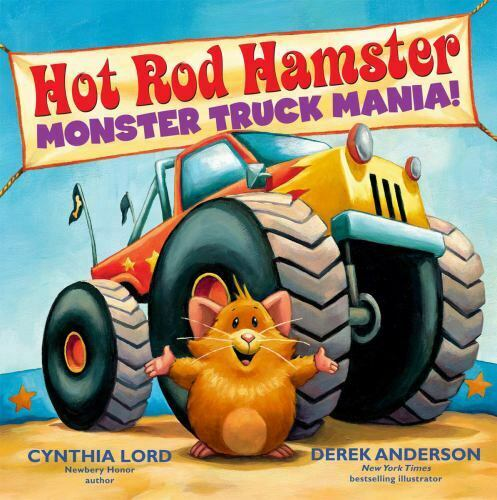 Monster Truck Mania By Cynthia Lord 2014, Hardcover  - $17.75