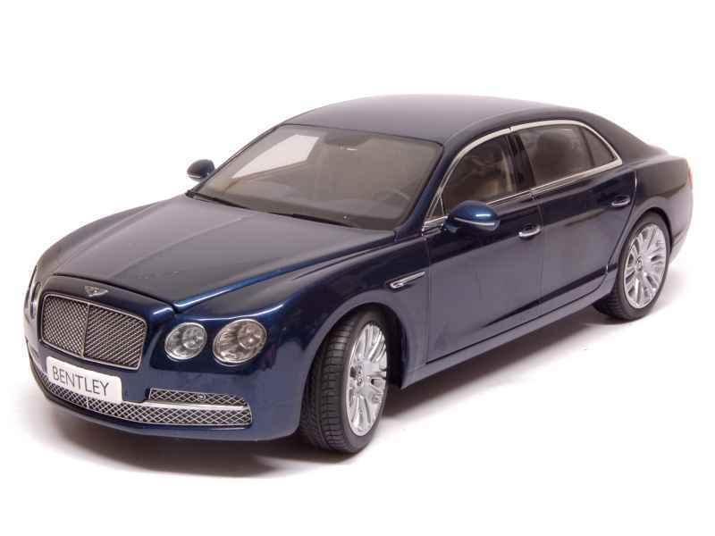 1 18 kyosho RARE Bentley Flying Spur W12 2013 bleu canard métallisé objet  8891PC