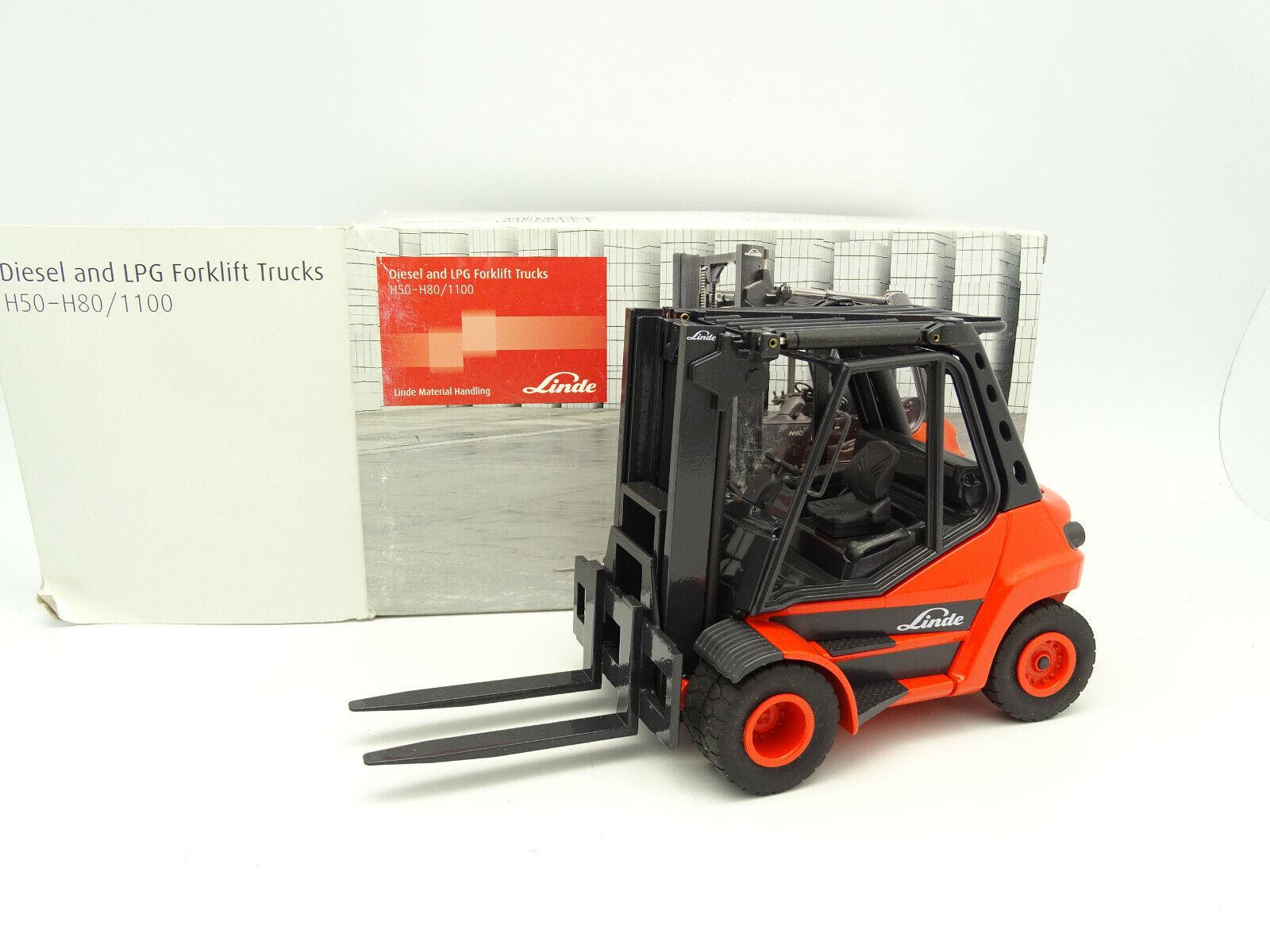 servizio onesto Conrad 1 25 25 25 TP BTP - Forklift Chariot élévateur Linde H50 H80  1100  consegna gratuita