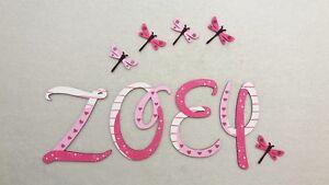 Details Zu Holz Buchstaben 7cm Kinderzimmer Tur Wand Wunschname Design Baby Kinder
