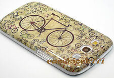 for Samsung galaxy s3 hard back case cover bicycle light green brown i9300 S III