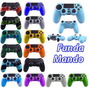 FUNDA MANDO compatible PS4 COLORES carcasa PLAYSTATION 4 Silicona Gel