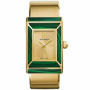 Tory-Burch-TRB5002-Women-039-s-Robinson-Gold-Tone-Quartz-Watch
