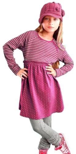 CFL Vestito Bambini PLUS Leggings Bambini vestiti set abito Legging Rosa Grigio 152 158