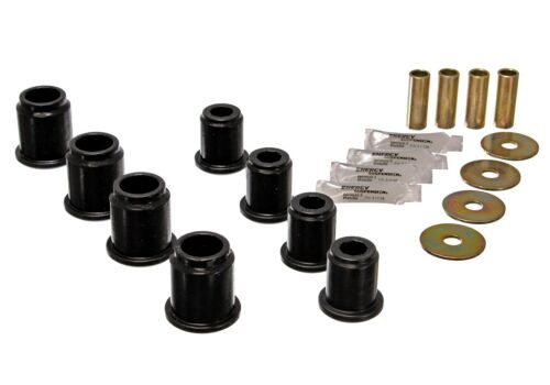 Energy Suspension 8.3115G Control Arm Bushing Set Fits 95-04 Tacoma//Front//Black