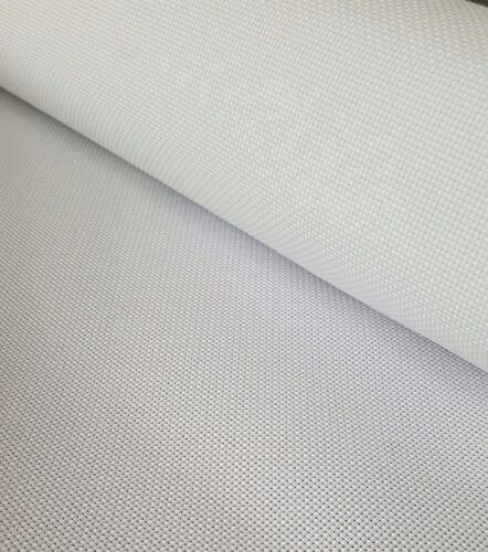 Size 45cm x 45cm 100/% Cotton Fabric 14 Count White Aida