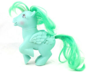 Vintage My Little Pony Medley Pegasus 1983 Green Music Note G1 Ebay