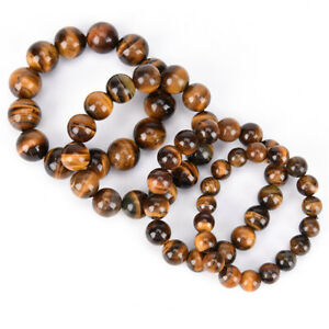 8mm-Natural-Stone-African-Roar-Natural-Tiger-039-s-Eye-Round-Beads-bracelet-SO