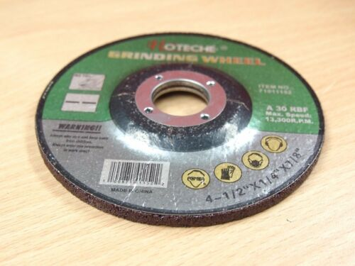 """Lot of Metal Grinding Wheels Angle Grinder Disc 4-1//2/""""x1//4/""""x7//8/"""" 36"""
