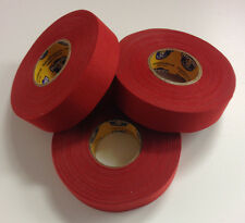 Red Howies Hockey Stick Tape - 1x27 Yards - 3 Rolls - Red Grip Tape