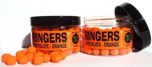 Brand New Ringers Chocolate Orange Bandem Wafter Boilies All Sizes Available