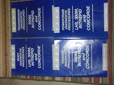 2002 DODGE 300M INTREPID CHRYSLER CONCORDE LHS Chassis Diagnostic Manual OEM