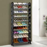 Standing Shoe Rack Tower Stackable Shoes Storage Shelf Cabinet For 40 Pairs G9u3