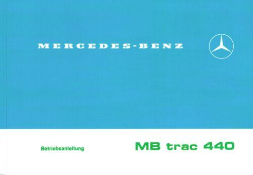 MB-Trac manuale di istruzioni mbtrac 440-65//70 //// 700//800