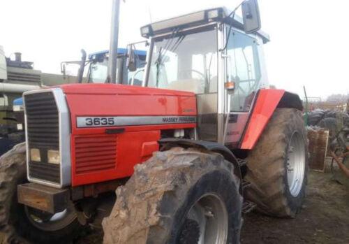 Massey Ferguson Tractor Serie 3600 Manual del operador 3635-3690