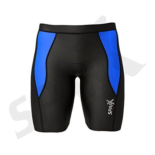 Sparx Men/'s Performance Tri Shorts Swim Bike Run Cycling Triathlon Shorts