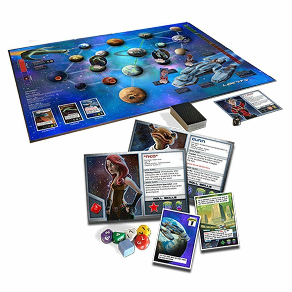 Space Movers Movers Movers 2201 Board Game 15c263