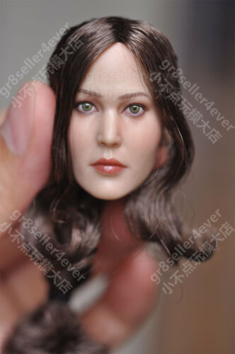 "Free ship 1//6 Jennifer Lawrence Head Sculpt The Hunger Games for 12/"" toy Phicen"
