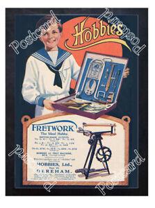 Historic-Hobbies-Ltd-Dereham-c-1910-Advertising-Postcard