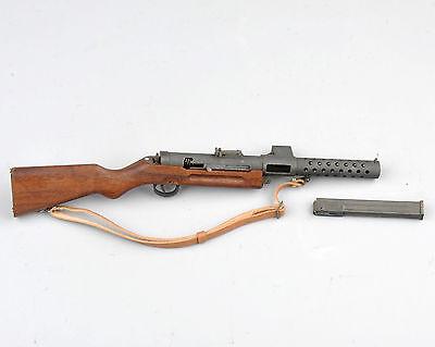"""1:6 Seconda Guerra Mondiale Militare Pistola giocattolo MP18 MITRA kugelspritz per 12/"""" cifra Soldato"""