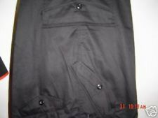 COMBAT CARGO WORK ARMY TROUSERS 44 46  48 50 52 54 56 58 60  BLACK strong tough