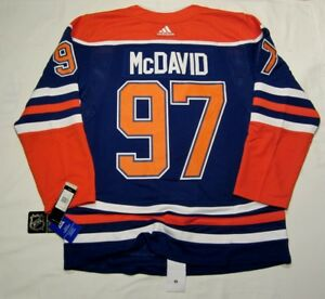 finest selection 5aef8 672e4 Details about CONNOR McDAVID size 50 = Medium Edmonton Oilers Alternate 3rd  ADIDAS NHL JERSEY