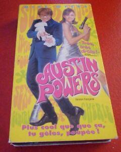 VHS-Movie-Austin-Powers-Version-Francaise
