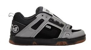 huge discount bb183 333c5 Dettagli su Scarpe DVS Comanche Black Grey Leather skate hip hop sdvs363