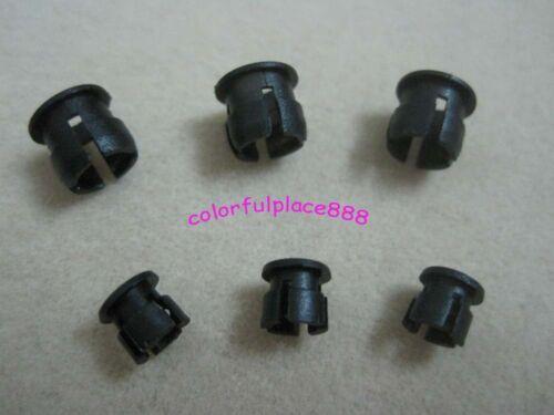50 x 3mm 50 x 5mm Black Plastic ABS LED Bezel Holder Panel Display New 100pcs