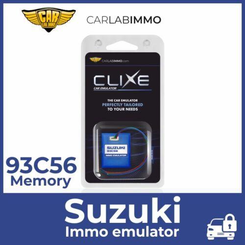 CLIXE Immo Emulator Suzuki Denso ECU with 93C56 memory and 29F200 flash memory