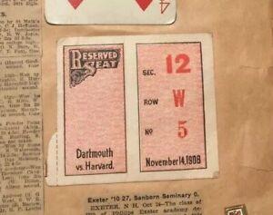 Harvard-Yale-Dartmouth-1906-Tickets-Plimpton-Field-Foot-Ball-Scrapbook-Program